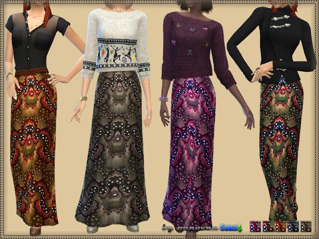 Sims 4 Skirt at Bukovka