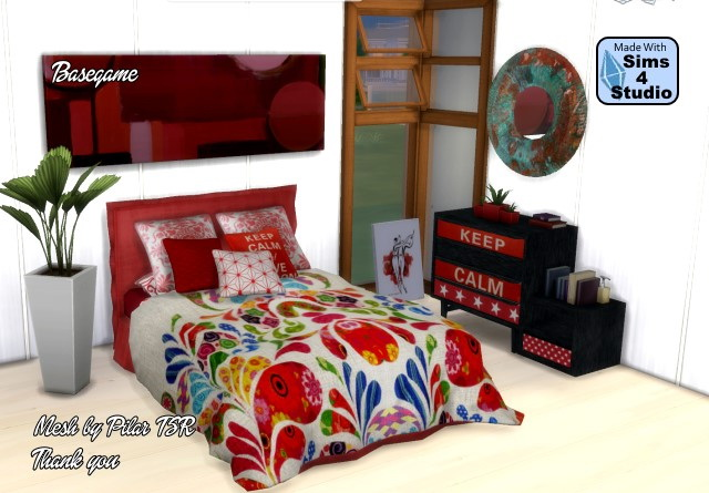 Pilars bedroom recolor by Oldbox at All 4 Sims image 2917 Sims 4 Updates