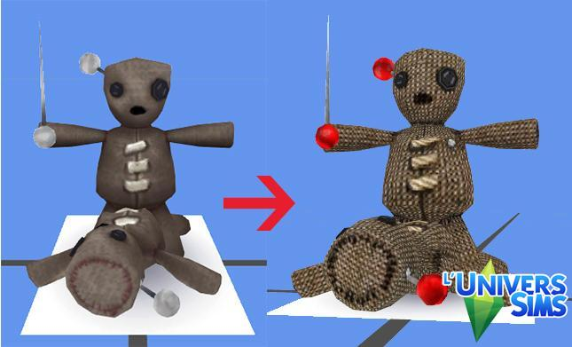 Voodoo Doll recolor by Tigerone35 at L'UniverSims image 2952 Sims 4 Updates