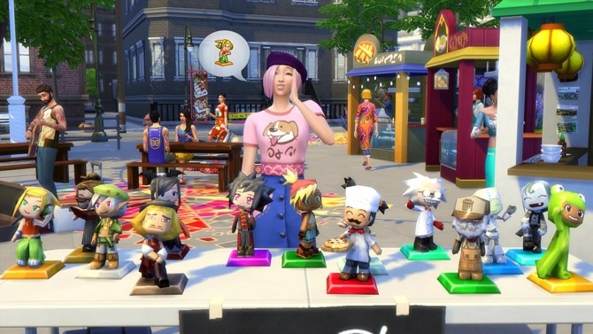Sims 4 Get Thrifty with the Flea Market in The Sims 4 City Living at The Sims™ News