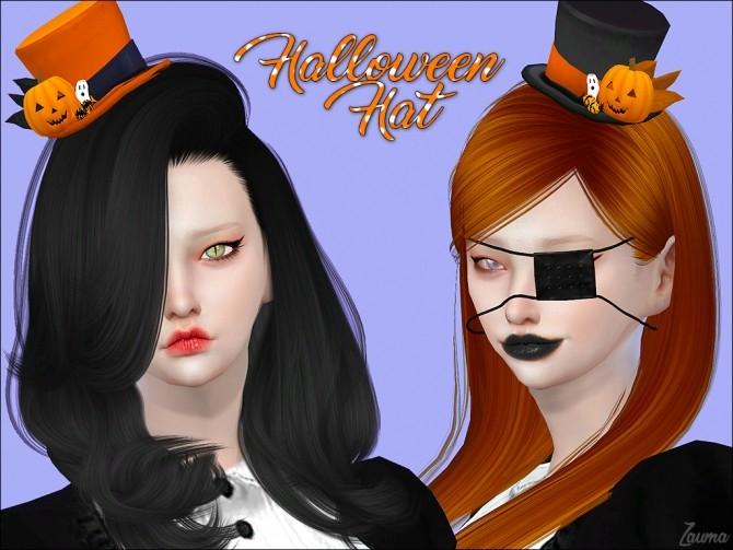 Yume Halloween Hat by Zauma at TSR image 3017 670x503 Sims 4 Updates