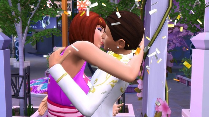 Sims 4 Find True Love at the Romance Festival in The Sims 4 City Living at The Sims™ News