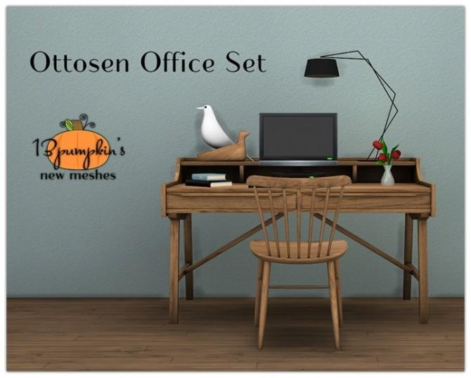 Sims 4 Ottosen Office at 13pumpkin31
