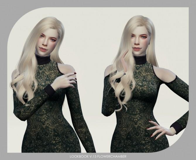 Sims 4 LOOKBOOK V.15  Elegant, Leisure posepack at Flower Chamber