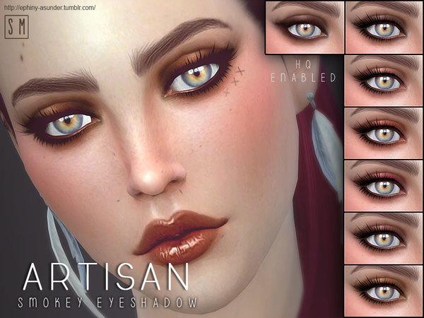 Sims 4 Artisan Eye Shadow by Screaming Mustard at TSR