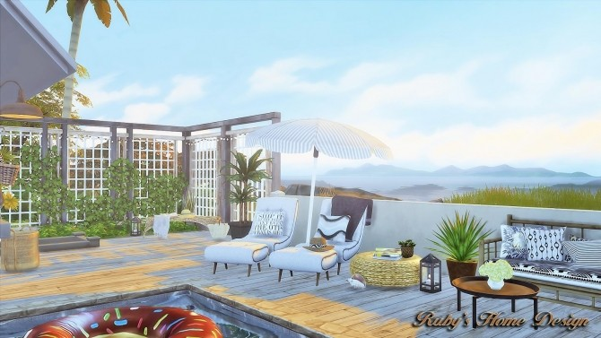 Scandinavian Retreat by Ruby Red at Ruby's Home Design image 317 670x377 Sims 4 Updates