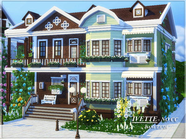 Ivette house by Danuta720 at TSR image 319 Sims 4 Updates