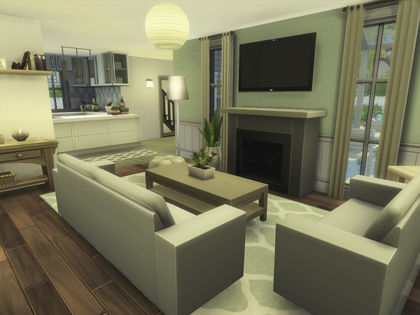Import Close house by MadabbSim at TSR image 320 Sims 4 Updates