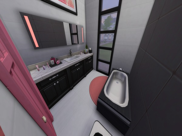 Perfect Cubic House by PxiPlays at TSR image 326 Sims 4 Updates