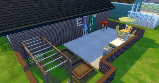 Sims 4 Katie starter home (furnished/ unfurnished) by Flowy fan at Mod The Sims