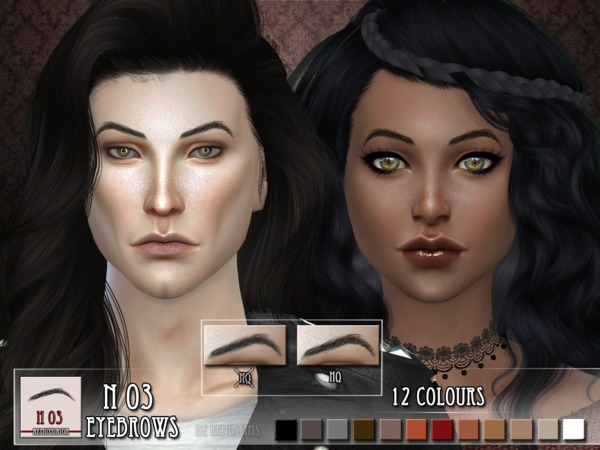 Eyebrows N03 and N04 by RemusSirion at TSR image 405 Sims 4 Updates