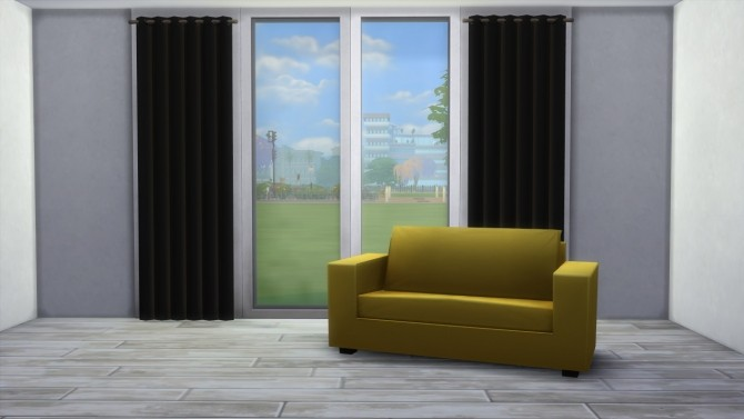 Curtain in black by highbythebevch at Mod The Sims image 4114 670x377 Sims 4 Updates