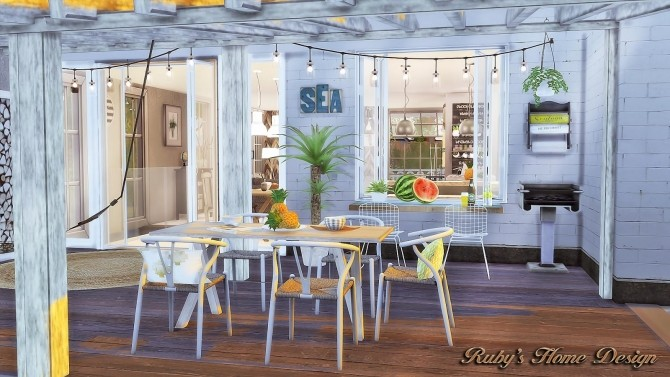 Scandinavian Retreat by Ruby Red at Ruby's Home Design image 414 670x377 Sims 4 Updates