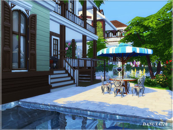 Ivette house by Danuta720 at TSR image 416 Sims 4 Updates