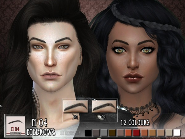 Eyebrows N03 and N04 by RemusSirion at TSR image 419 Sims 4 Updates