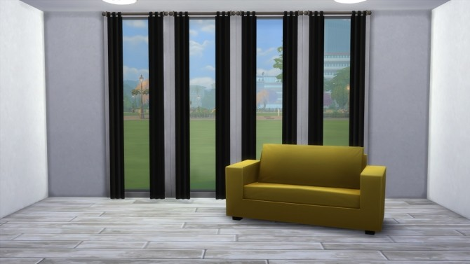 Curtain in black by highbythebevch at Mod The Sims image 4212 670x377 Sims 4 Updates