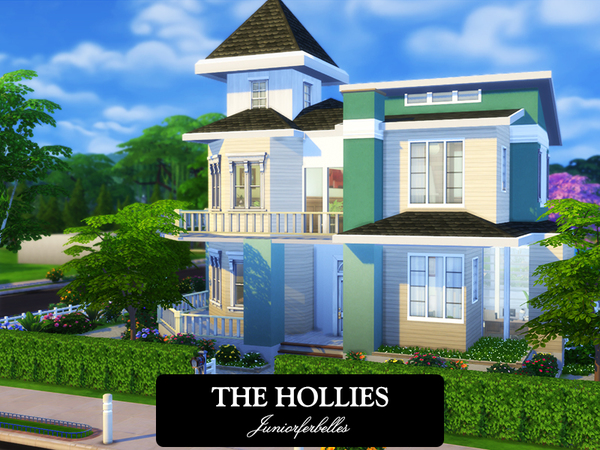 The Hollies house by juniorferbelles at TSR image 4219 Sims 4 Updates