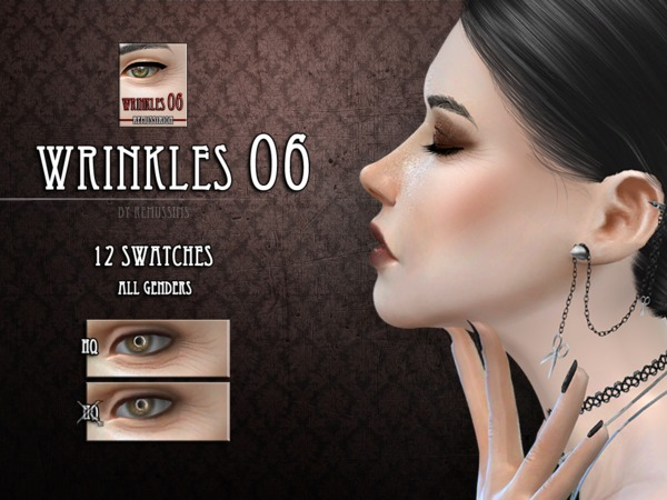 Sims 4 Wrinkles 06 by RemusSirion at TSR