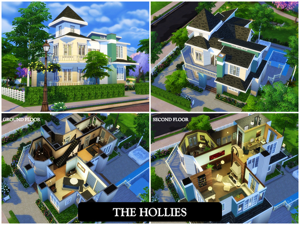 The Hollies house by juniorferbelles at TSR image 4317 Sims 4 Updates