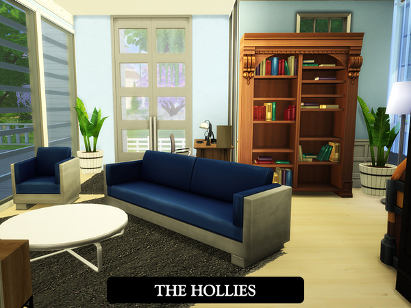 The Hollies house by juniorferbelles at TSR image 4417 Sims 4 Updates