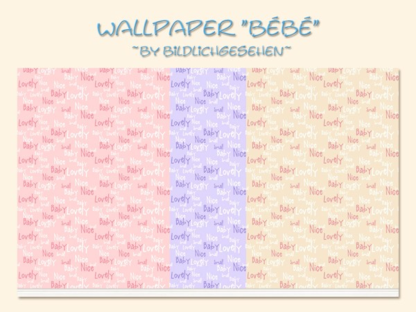 Sims 4 Bebe wallpaper at Akisima