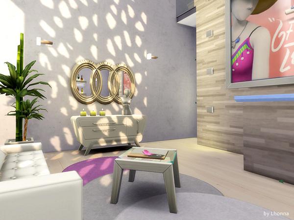 Sims 4 Futurosa house by Lhonna at TSR