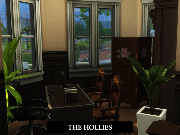 Sims 4 The Hollies house by juniorferbelles at TSR