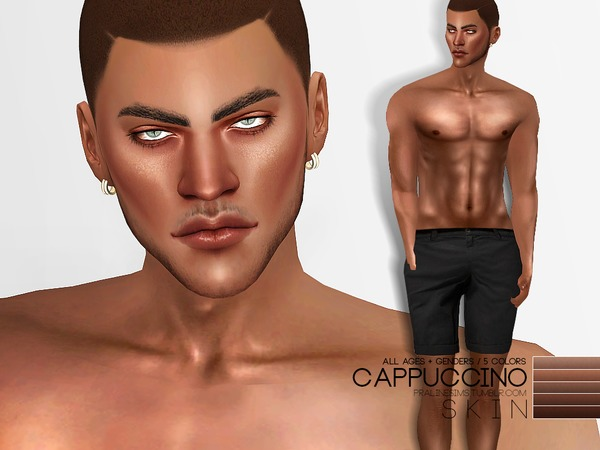 PS Cappuccino Skin by Pralinesims at TSR image 460 Sims 4 Updates