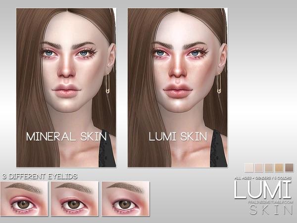 Sims 4 PS Lumi Skin by Pralinesims at TSR