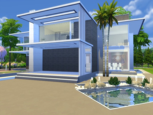 Modern Liana home by Suzz86 at TSR image 4714 Sims 4 Updates