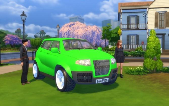 Sims 4 Tofunda Wagon 2016 by Stanislav at Mod The Sims
