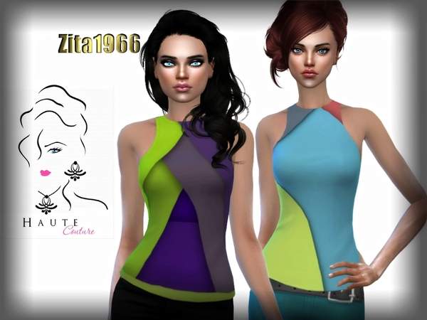 HAUTE COUTURE TOPS by ZitaRossouw at TSR image 480 Sims 4 Updates