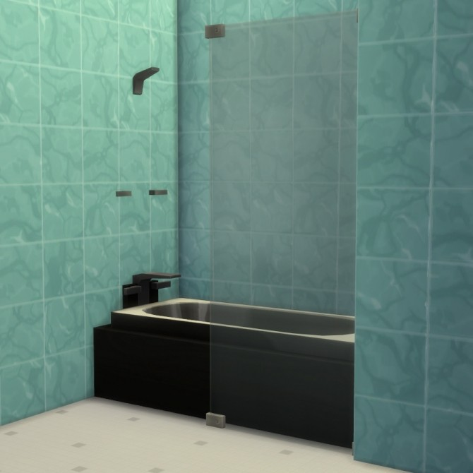 Mix n Match Showers & Tubs by Madhox at Mod The Sims image 481 670x670 Sims 4 Updates