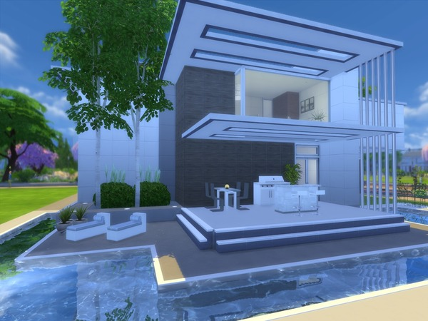 Modern Liana home by Suzz86 at TSR image 4815 Sims 4 Updates