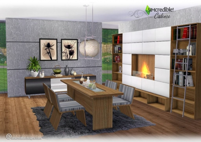 Sims 4 furniture downloads sims 4 updates page 9 of 413 for Dining room ideas sims 4