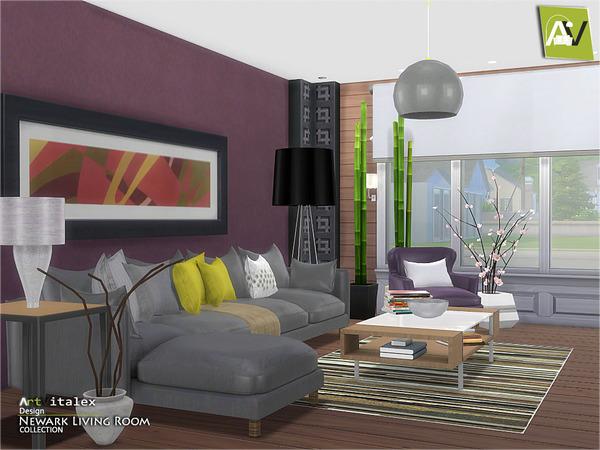 sims 2 living room set