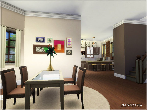 Ivette house by Danuta720 at TSR image 515 Sims 4 Updates