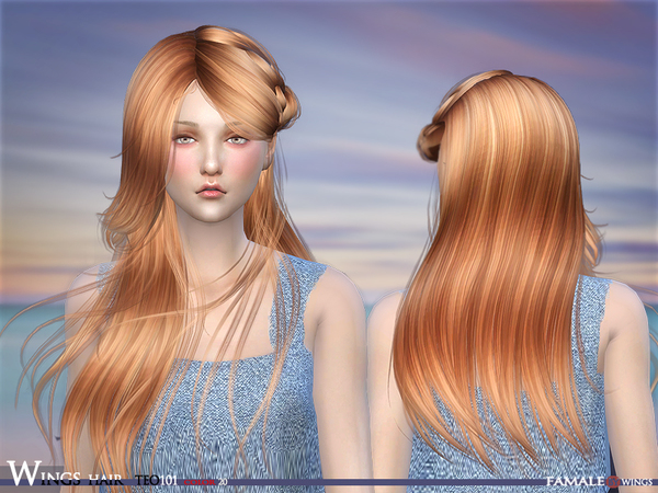 HAIR TEO 101 F by wingssims at TSR image 552 Sims 4 Updates