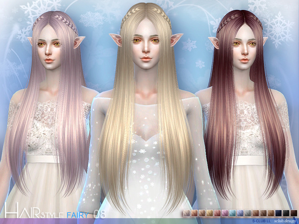 Fairy N8 hair by S Club at TSR image 56 Sims 4 Updates