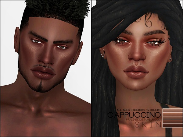 PS Cappuccino Skin by Pralinesims at TSR image 560 Sims 4 Updates