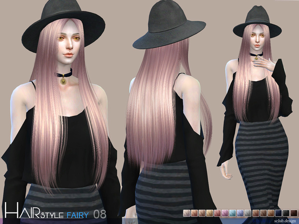 Fairy N8 hair by S Club at TSR image 59 Sims 4 Updates