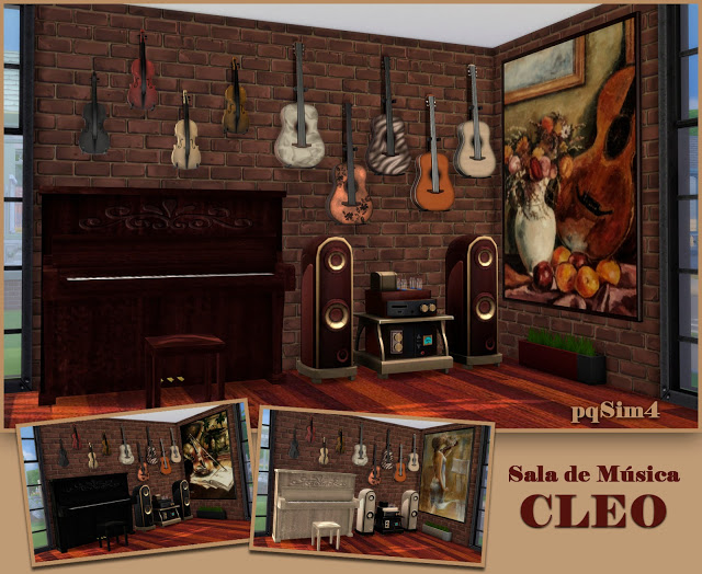 Cleo music room by Mary Jiménez at pqSims4 image 597 Sims 4 Updates