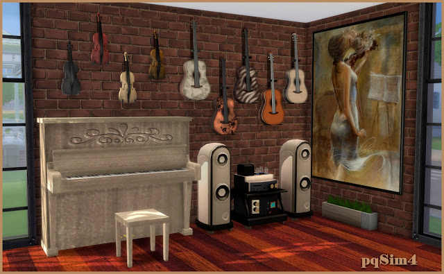 Cleo music room by Mary Jiménez at pqSims4 image 6113 Sims 4 Updates