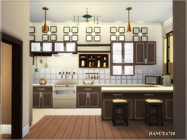 Ivette house by Danuta720 at TSR image 615 Sims 4 Updates