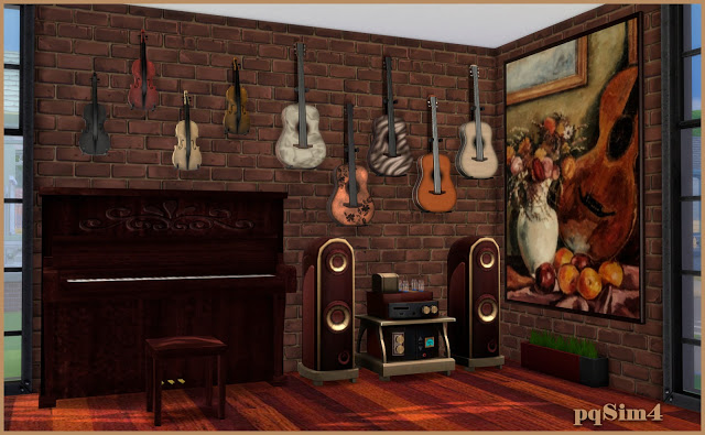 Cleo music room by Mary Jiménez at pqSims4 image 6210 Sims 4 Updates
