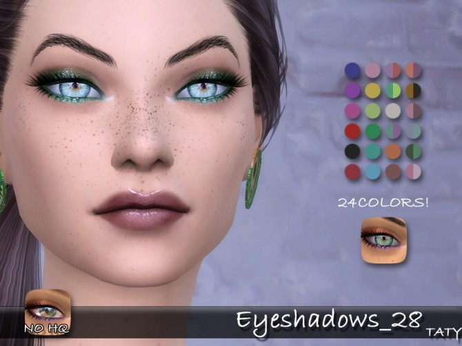 Sims 4 Eyeshadows 28 by Taty86 at SimsWorkshop