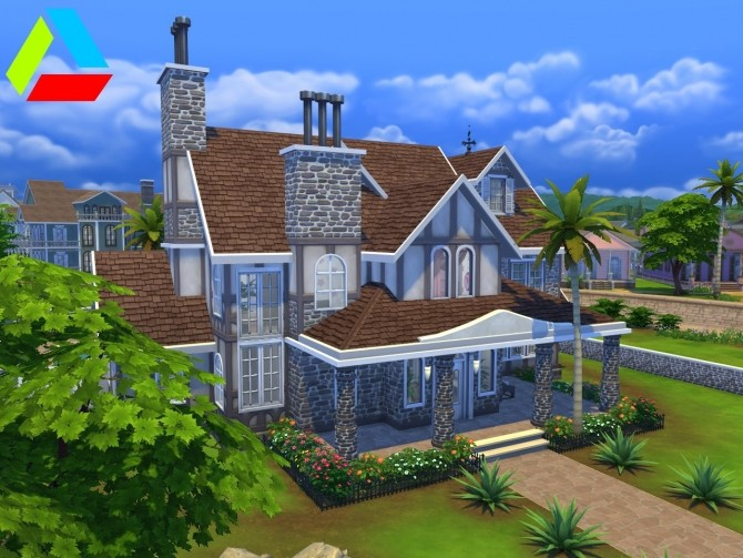 Sims 4 Family Oasis by Hannes16 at Mod The Sims