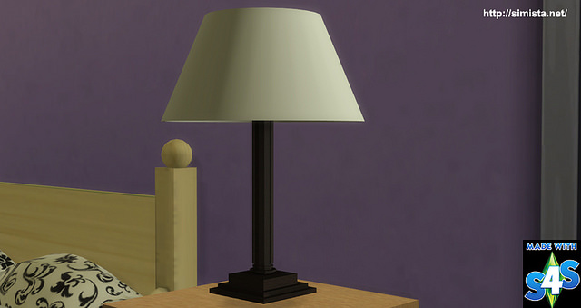Sims 4 Mission Lamp at Simista