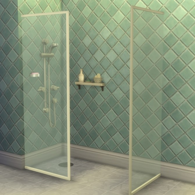 Build a Shower Kit by Madhox at Mod The Sims image 701 670x670 Sims 4 Updates