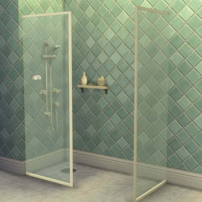 Build A Shower Kit By Madhox At Mod The Sims 187 Sims 4 Updates